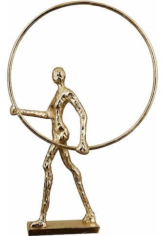 Casablanca by Gilde Dekofigur »Skulptur Gym, antikfinish«, Dekoobjekt, Höhe 34 cm, aus... kaufen