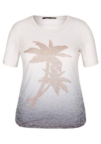 LeComte Shirt in Dip-Dyed-Optik mit Ziersteinen kaufen