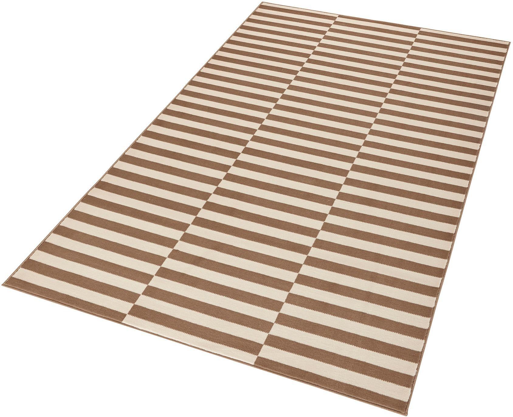 Teppich Panel HANSE Home rechteckig Höhe 9 mm maschinell gewebt