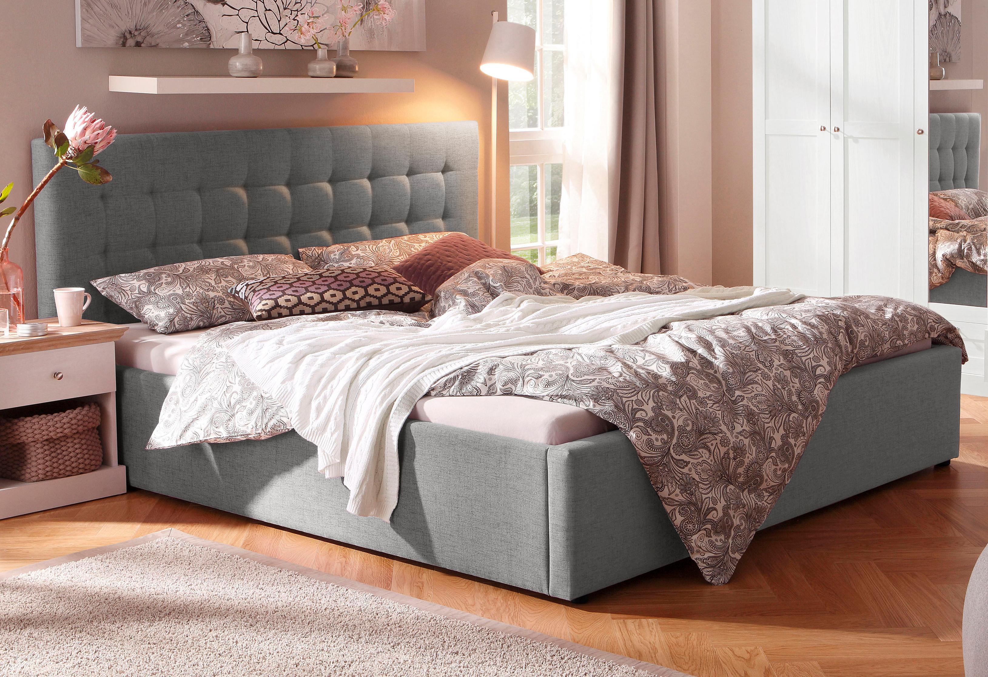 Home Affaire Nachttisch Selma mit 1 Schublade und 1 offenen Fach Höhe 55 cm