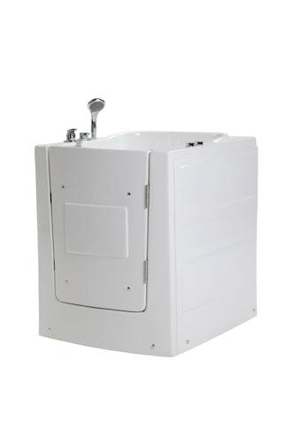 HOME DELUXE Whirlpool-Badewanne »Vital L«, sitzend mit Rechtsanschlag kaufen