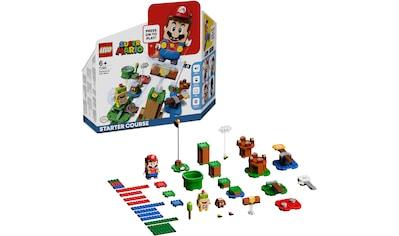 LEGO® Konstruktionsspielsteine »Abenteuer mit Mario – Starterset (71360), LEGO® Super Mario«, (231 St.) kaufen