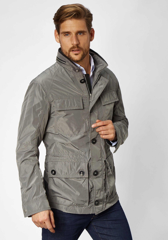 S4 Jackets leichte moderne Sommerjacke wind- und wasserabweisend Troja | Bekleidung > Jacken > Windbreaker | Grau | Polyester | s4 Jackets