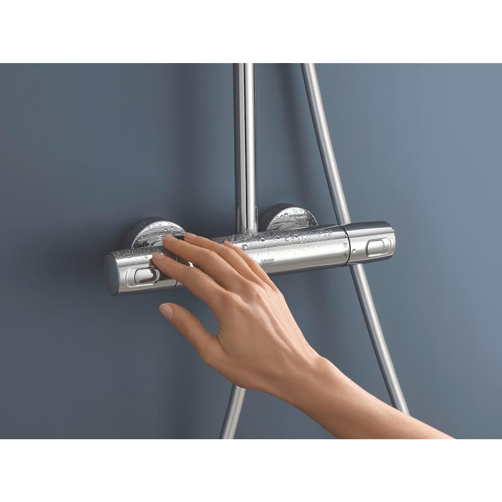 Grohe Duschsystem »Vitalio System 310 Duschsystem mit Thermostatbatterie für die Wandmontage«, mit Thermostatbatterie für die Wandmontage