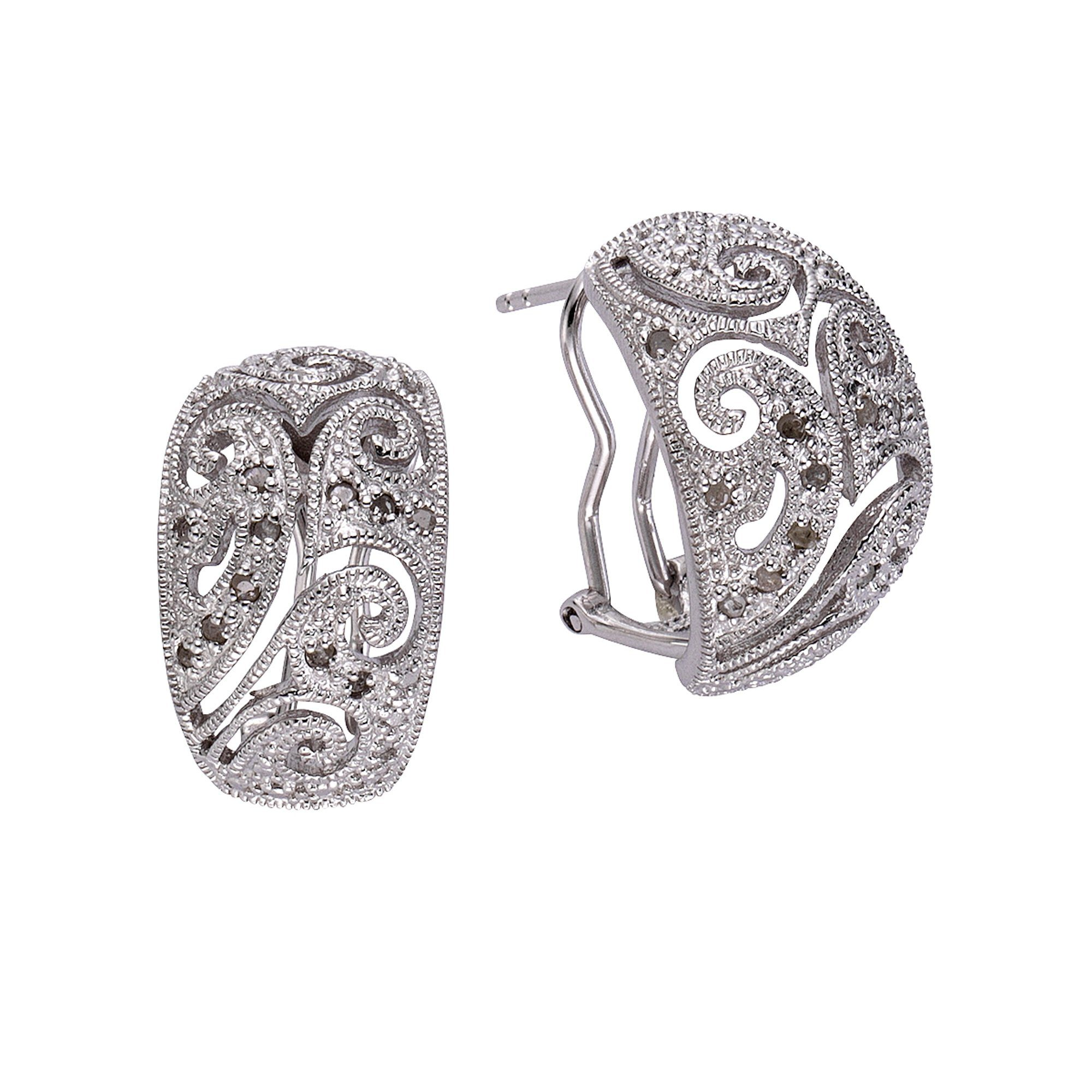 Diamonds by Ellen K Ohrstecker 925/- Sterling Silber Diamant 026ct | Schmuck > Ohrschmuck & Ohrringe > Ohrstecker | Weiß | Diamonds By Ellen K.