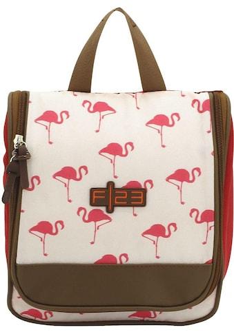 F23™ Kulturbeutel »Flamingo«, zum Aufhängen kaufen