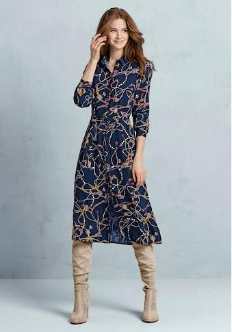 bianca Hemdblusenkleid »DOLORES«, im angesagten Ketten-Print und in moderner Länge kaufen