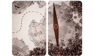 """WENKO Herd - Abdeckplatte """"Universal Kompass"""", Glas Kunststoff, (Set) kaufen"""