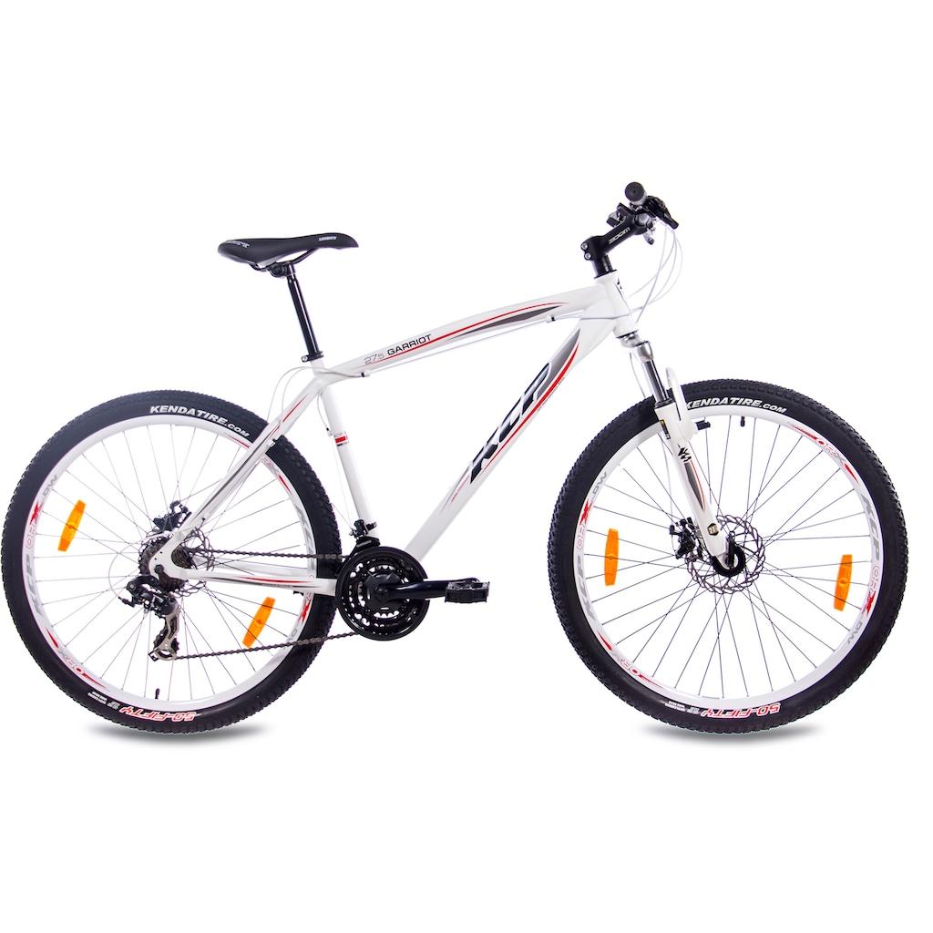 KCP Mountainbike »Garriot«, 21 Gang, Shimano, RD-TY300-GS Schaltwerk, Kettenschaltung, (1 tlg.)