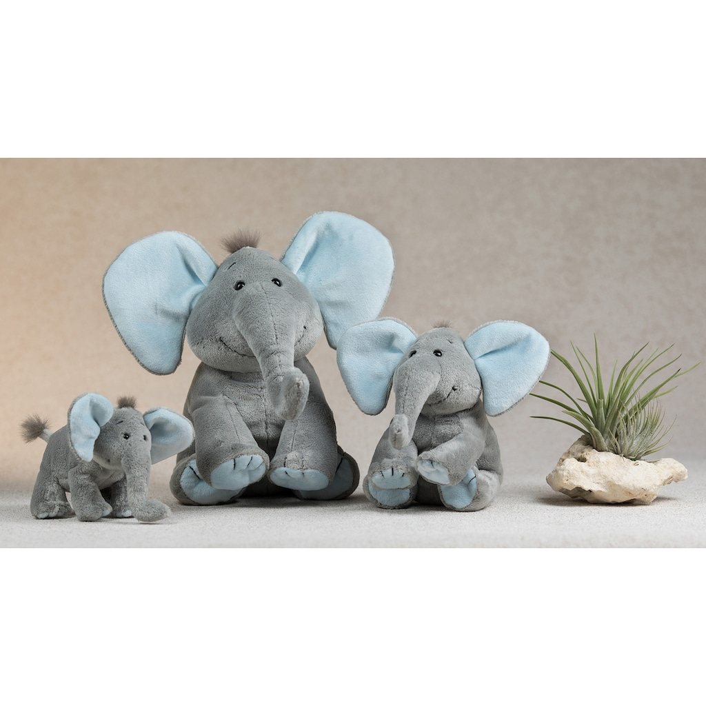 Schaffer® Kuscheltier »Elefant Baby Sugar, 25 cm, grau/hellblau«