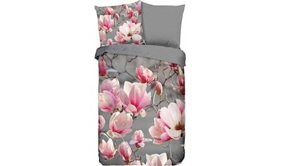 good morning Wendebettwäsche »Meri«, mit Magnolienblüten kaufen