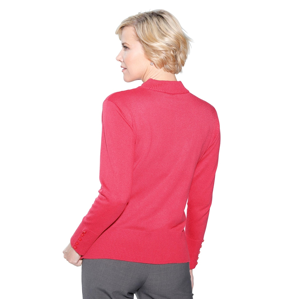Classic Stehkragenpullover »Pullover«