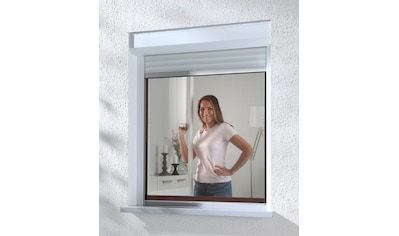 hecht international Insektenschutz-Fenster »COMPACT«, braun/anthrazit, flächenbündig,... kaufen