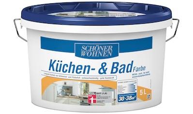 SCHÖNER WOHNEN-Kollektion Feuchtraumfarbe »Küche/Badfarbe, weiss« kaufen