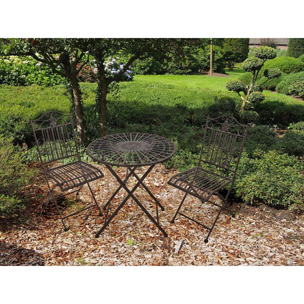 Garden Pleasure Gartenmöbelset »MANGAN«, (Set, 3 tlg.)