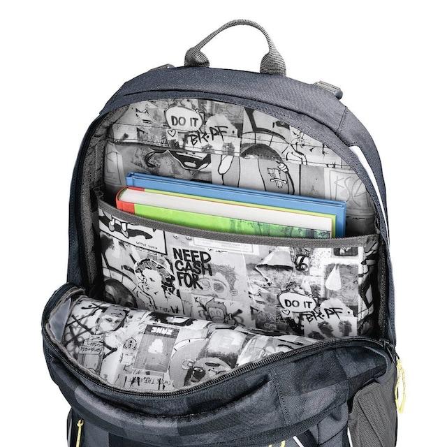"""Coocazoo Schulrucksack """"JobJobber2"""" mit Laptopfach, Mamor Check »»Außenmaße 30 x 45 x 20 cm««"""