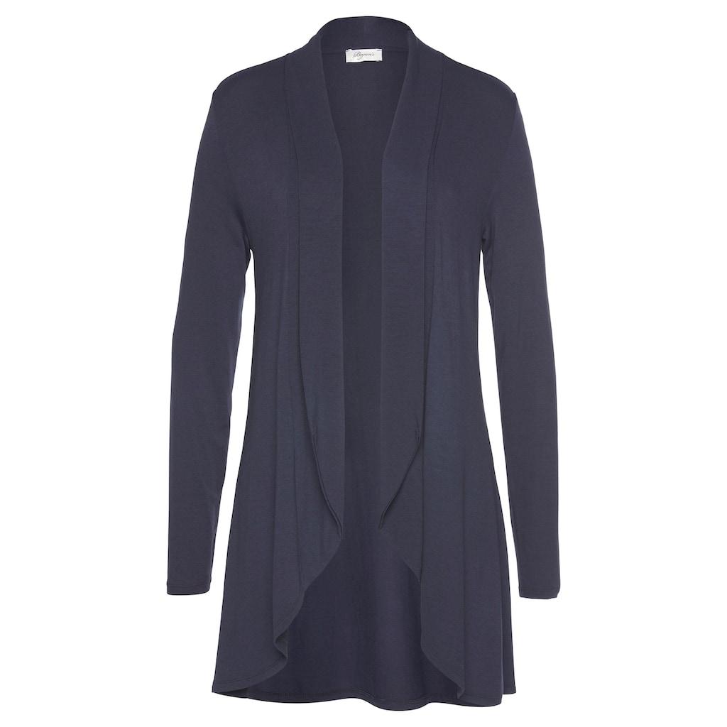 Boysen's Shirtjacke, in langer Vokuhila-Form
