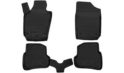 WALSER Passform-Fußmatten »XTR«, (5 St.), für VW Sharan/Seat Alhambra BJ 06/2010 - Heute kaufen