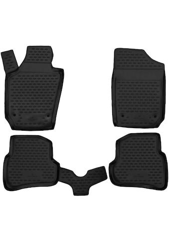 WALSER Passform-Fußmatten »XTR«, (4 St.), für Toyota Auris Touring Bj 07/2013 - 12/2018 kaufen