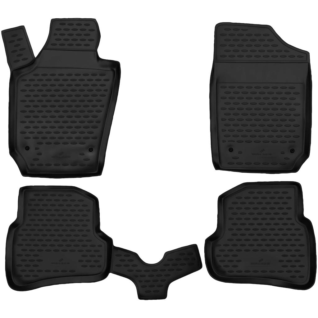 WALSER Passform-Fußmatten »XTR«, (5 St.), für VW Sharan/Seat Alhambra BJ 06/2010 - Heute
