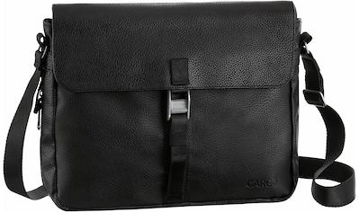 Cargo Businesstasche »Cargo 302, schwarz mit Struktur, L« kaufen