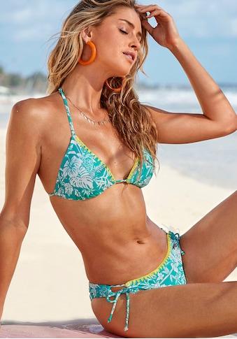 Venice Beach Triangel-Bikini, mit kontrastfarbener Häkelkante kaufen