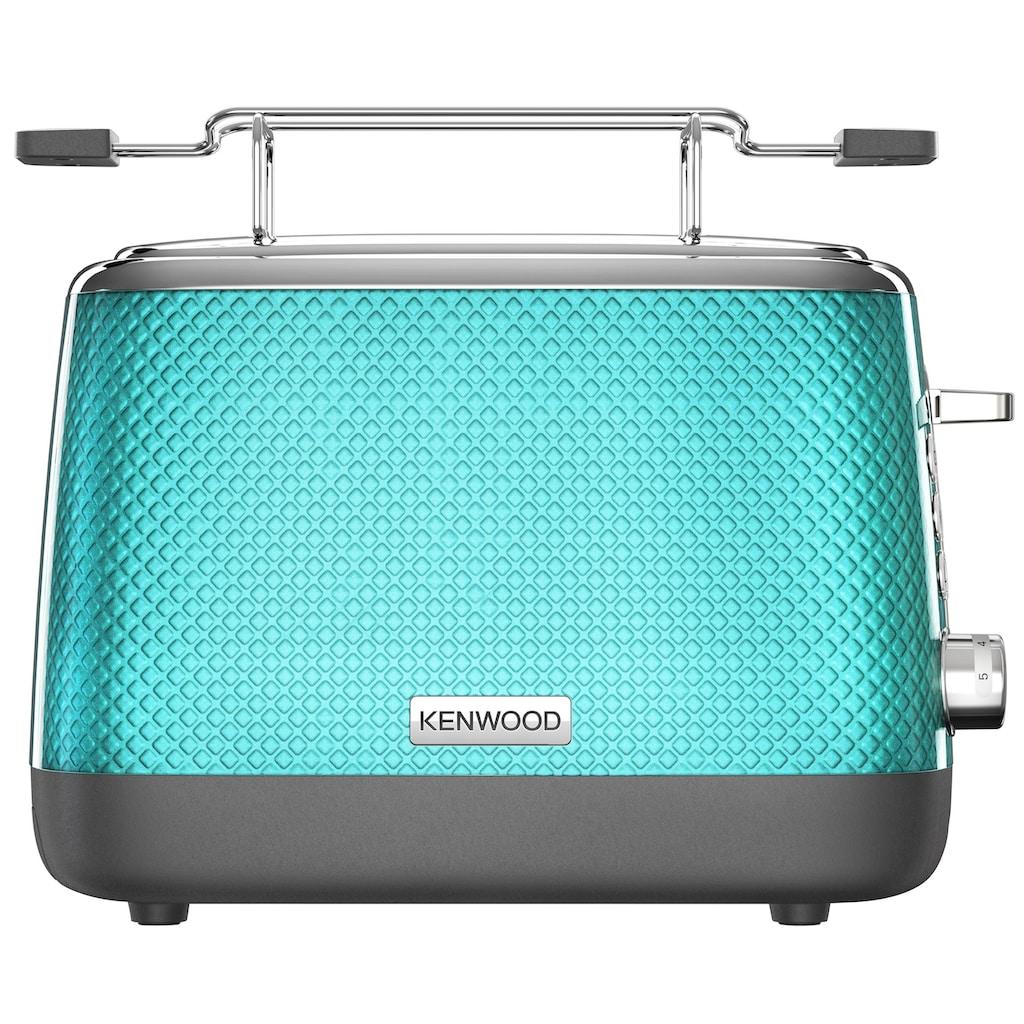KENWOOD Toaster »Mesmerine TCM811.BL«, 2 kurze Schlitze, für 2 Scheiben, 1000 W