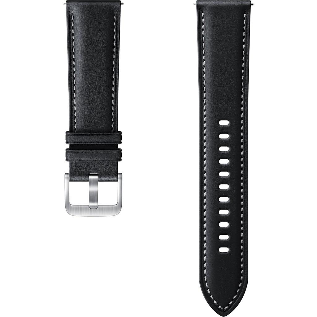 Samsung Uhrenarmband »Stitch Leather Band ET-SLR84 22 mm«