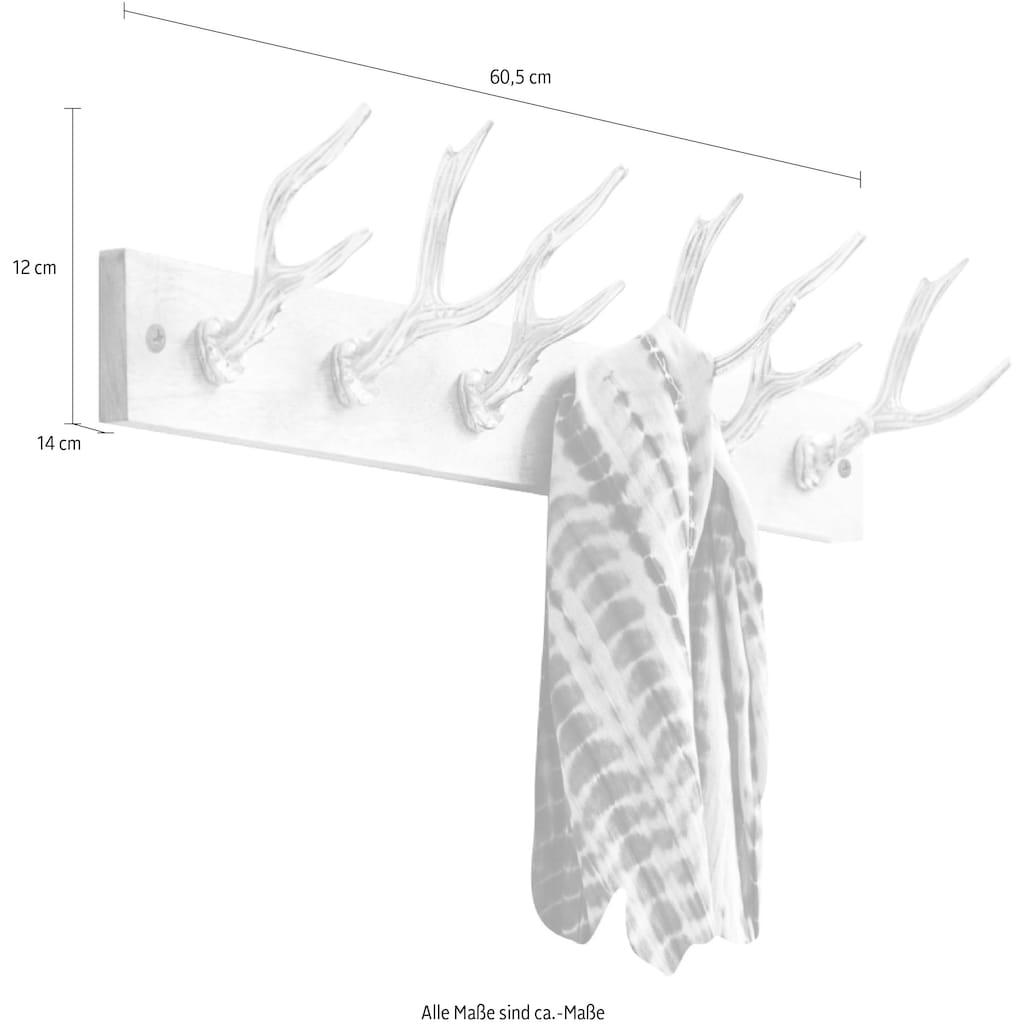 Schneider Garderobe, Maße (B/T/H): 60,5/14/12 cm