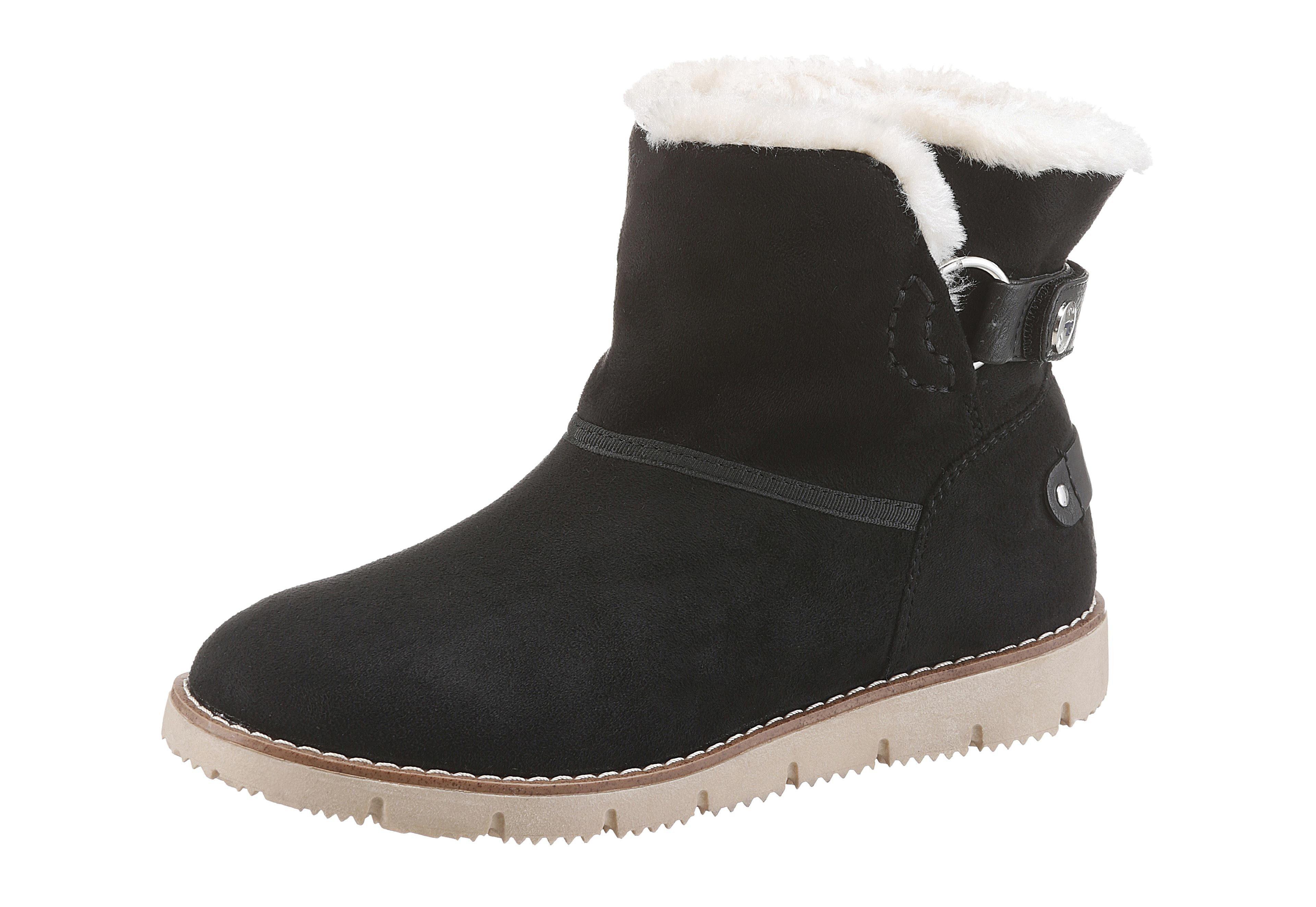 TOM TAILOR Winterboots | Schuhe > Boots > Winterboots | Schwarz | Tom Tailor