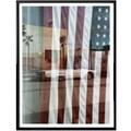 Wall-Art Poster »Flagge Amerika Reflection USA«, Autos, (1 St.), Poster, Wandbild, Bild, Wandposter