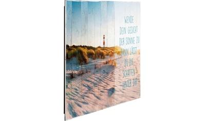 Reinders! Deco-Panel »Sonne am Strand« kaufen