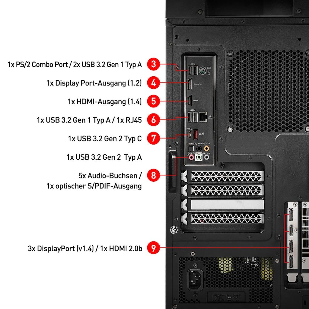 MSI Gaming-PC »MEG Infinite X 10SE-696DE«