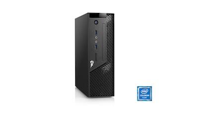 CSL Mini PC   Intel J3455   Intel HD Grafik   8GB DDR3   SSD »Ultra Silent J3455 - 7 Windows 10« kaufen