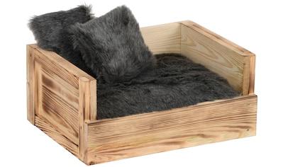 Silvio Design Hundebett und Katzenbett »Benny«, BxLxH: 45x34x20 cm kaufen