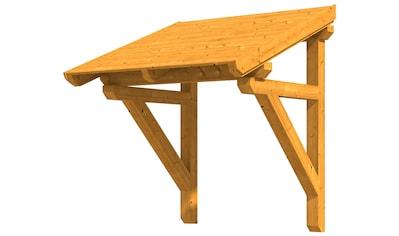 Skanholz Pultvordach »Potsdam 1«, BxTxH: 176x156x293 cm kaufen