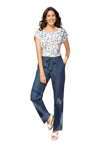 Inspirationen Jeans mit abnehmbarerm Bindegürtel kaufen