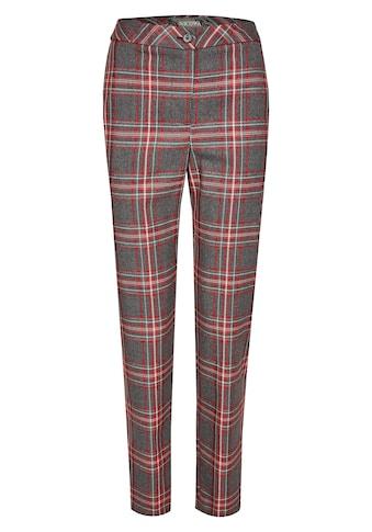 Nicowa Lange Hose mit Schottenmuster - MIKOLA kaufen