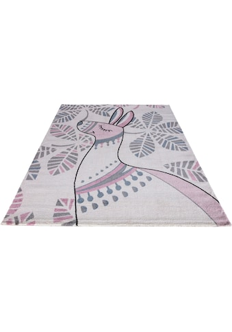 Festival Kinderteppich »Candy 150«, rechteckig, 11 mm Höhe, Motiv Lama kaufen