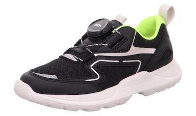 Superfit Sneaker »Rush WMS Weiten-Messsystem: mittel«, mit coolem Schnellverschluss kaufen