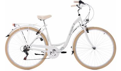 KS Cycling Cityrad »Casino«, 6 Gang Shimano Tourney RD - TZ50 Schaltwerk, Kettenschaltung kaufen