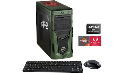 Hyrican »Military Gaming 6524« Gaming - PC (AMD, Ryzen 3, Radeon Vega 8, Luftkühlung) kaufen