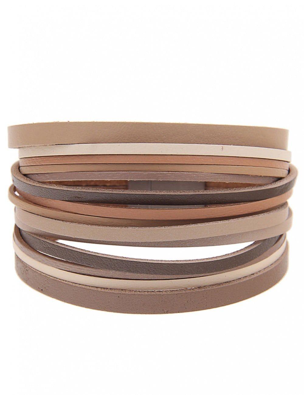 leslii Armband, mit Magnetverschluss braun Damen Armband Armbänder Schmuck 4250980361066