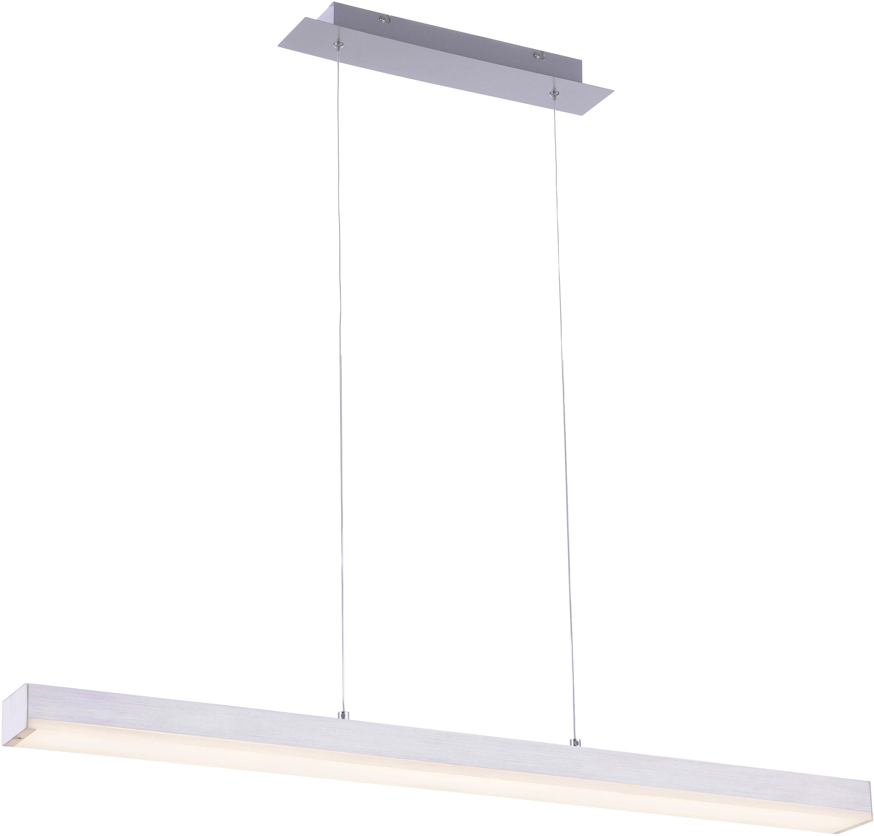 TRIO Leuchten LED Pendelleuchte LIVARO, LED-Board, Warmweiß-Neutralweiß, Hängeleuchte, Mit WiZ-Technologie für eine moderne Smart Home Lösung, dimmbar, Farbwechsel