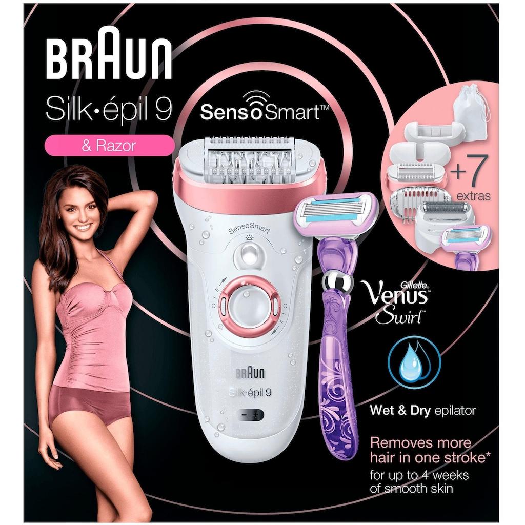 Braun Epilierer »Silk-épil 9 9/870 SensoSmart«