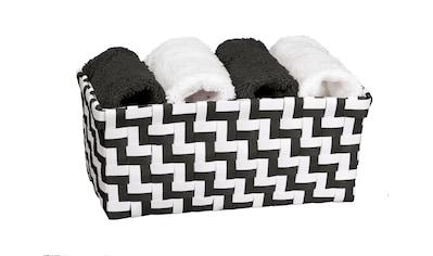 Kleine Wolke Badaccessoires-Sets »Solas«, 1x Korb + 4x Handtücher 30x30 cm kaufen