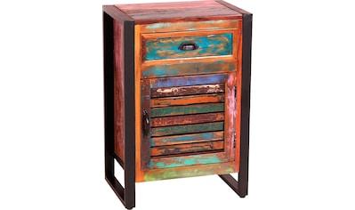 SIT Kommode, Gefertigt aus bunt lackiertem Altholz kaufen