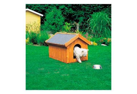 promadino Hundehütte, in versch. Größen beige Hundehütte Hundehütten Zwinger Hund Tierbedarf
