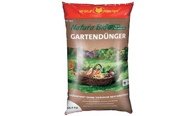WOLF GARTEN Universaldünger »Natura Bio«, in 3 Verpackungsgrößen kaufen