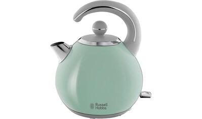 RUSSELL HOBBS Wasserkocher, Bubble Soft Green 24404 - 70, 1,5 Liter, 2300 Watt kaufen